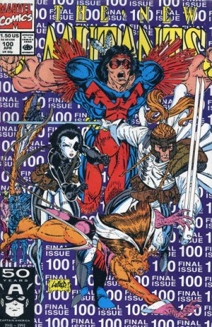 The New Mutants # 100 Issues V1 (1983 - 1991)