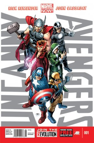Uncanny Avengers édition Issues V1 (2012 - 2014)
