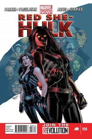 Red She-Hulk édition Issues V1 (2012 - 2013)