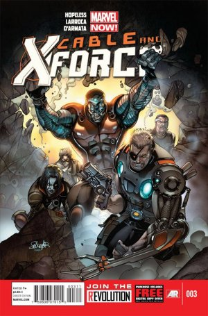 Cable and X-Force # 3 Issues (2012 - 2014)