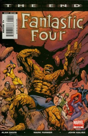 Fantastic Four - The End # 4 Issues