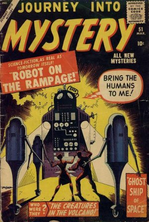 Journey Into Mystery # 51 Issues V1 (1952 - 1966)