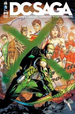 Justice League # 9 Kiosque mensuel