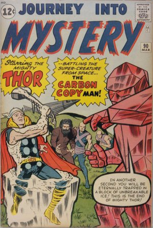 Journey Into Mystery # 90 Issues V1 (1952 - 1966)