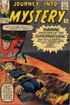 Journey Into Mystery # 91 Issues V1 (1952 - 1966)