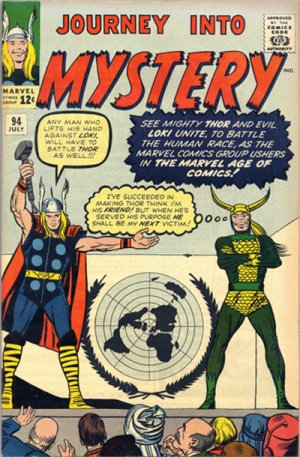 Journey Into Mystery # 94 Issues V1 (1952 - 1966)