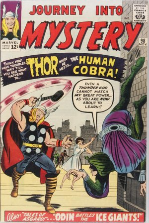 Journey Into Mystery # 98 Issues V1 (1952 - 1966)