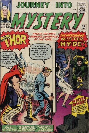 Journey Into Mystery # 99 Issues V1 (1952 - 1966)