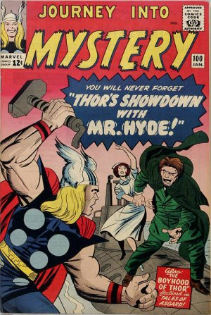 Journey Into Mystery # 100 Issues V1 (1952 - 1966)