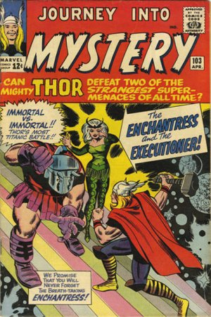 Journey Into Mystery # 103 Issues V1 (1952 - 1966)