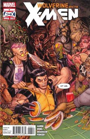 Wolverine And The X-Men 6 - Mutatis Mutandis Part Two: Always bet on X!