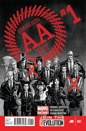 Avengers Arena édition Issues (2012 - 2013)