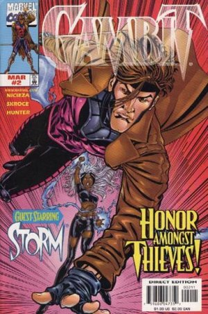 Gambit # 2 Issues V3 (1999 - 2001)