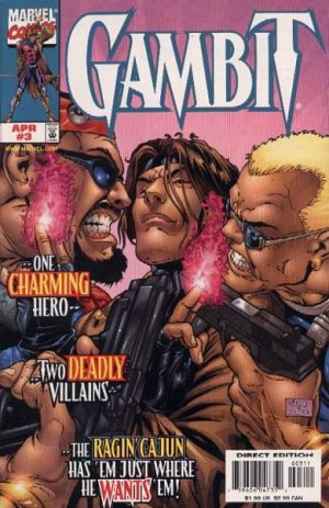 Gambit # 3 Issues V3 (1999 - 2001)
