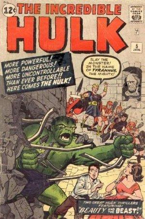 The Incredible Hulk # 5 Issues V1 (1962 - 1963)