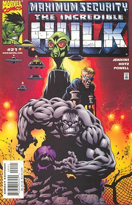 The Incredible Hulk # 21