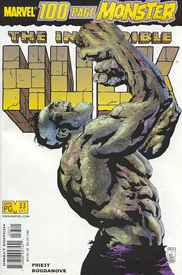 The Incredible Hulk # 33