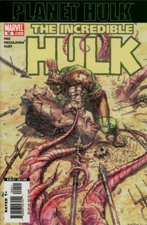 The Incredible Hulk 92 - Planet Hulk Exile: Part One