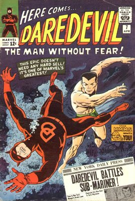 Daredevil 7 - In Mortal Combat With The Sub-Mariner!