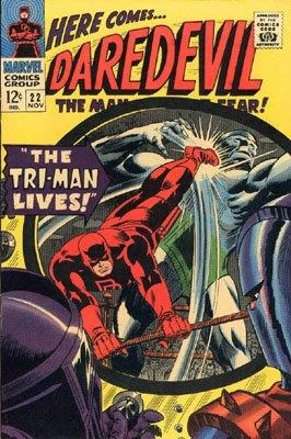 Daredevil 22 - The Tri-Man Lives!