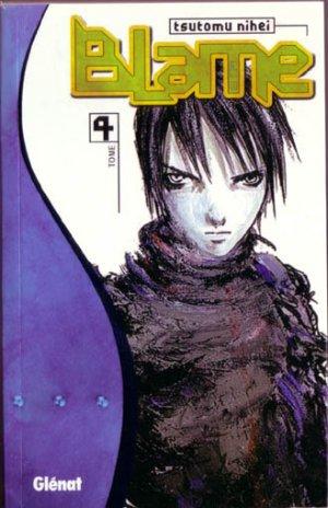 couverture, jaquette Blame ! 4 1ère édition (Glénat Manga)