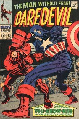 Daredevil 43 - In Combat With Captain America!