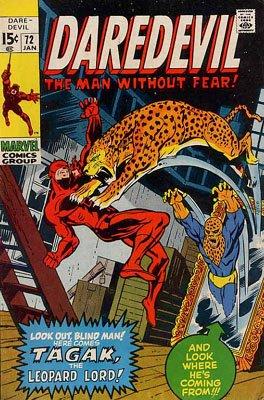Daredevil # 72 Issues V1 (1964 - 1998)