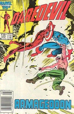Daredevil # 233 Issues V1 (1964 - 1998)