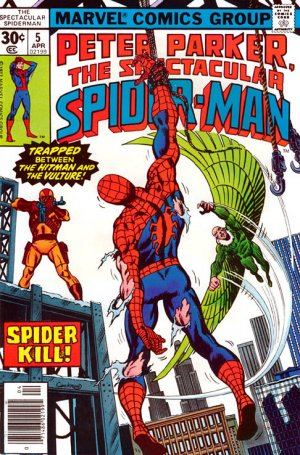 Spectacular Spider-Man # 5 Issues V1 (1976 - 1998)