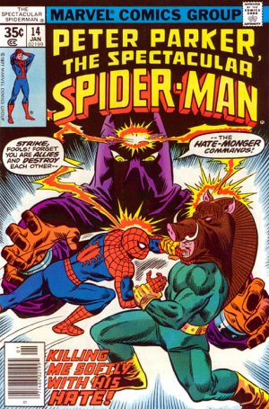Spectacular Spider-Man 14 - Killing Me Softly... with His Hate!