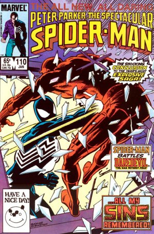Spectacular Spider-Man # 110 Issues V1 (1976 - 1998)