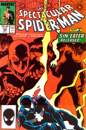 Spectacular Spider-Man # 134 Issues V1 (1976 - 1998)