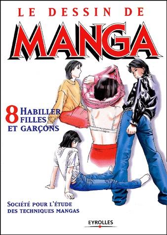 couverture, jaquette Le dessin de Manga 8  (Eyrolles)