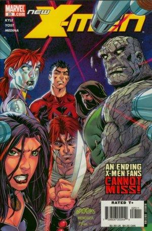 New X-Men # 25