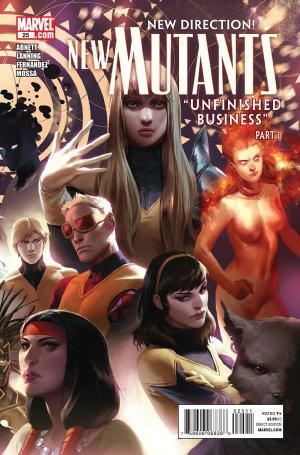 The New Mutants # 25