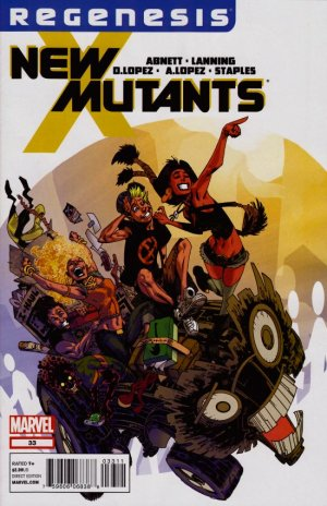 The New Mutants # 33
