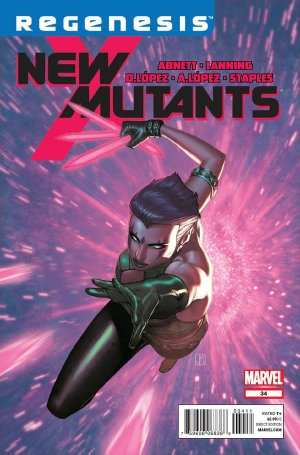 The New Mutants # 34