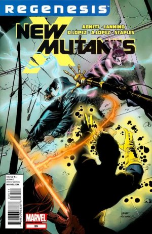 The New Mutants # 35