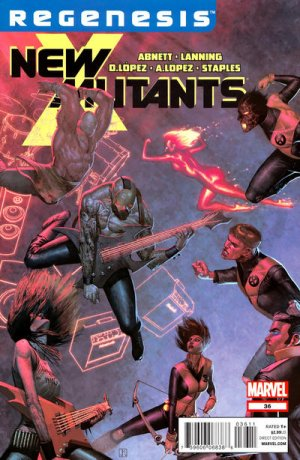The New Mutants # 36