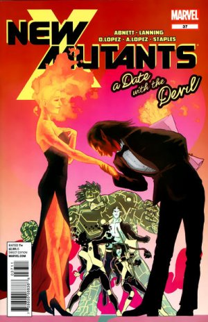 The New Mutants # 37