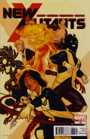 The New Mutants # 38