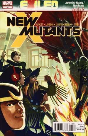 The New Mutants # 42