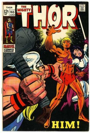 Thor # 165 Issues V1 (1966 à 1996)