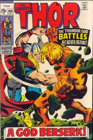 Thor # 166 Issues V1 (1966 à 1996)