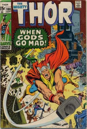 Thor # 180 Issues V1 (1966 à 1996)