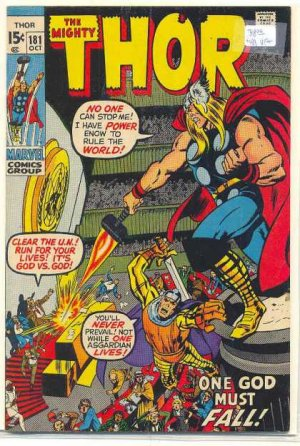 Thor # 181 Issues V1 (1966 à 1996)