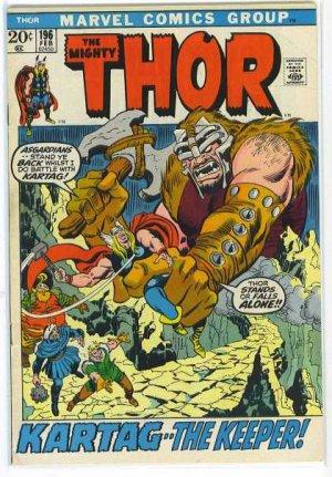 Thor # 196 Issues V1 (1966 à 1996)