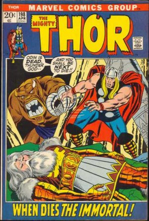 Thor # 198 Issues V1 (1966 à 1996)