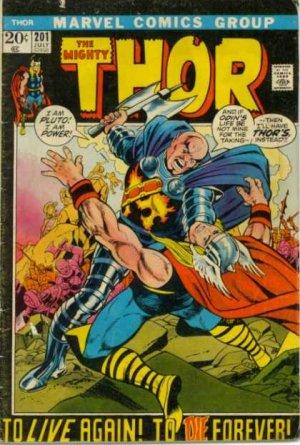Thor # 201 Issues V1 (1966 à 1996)