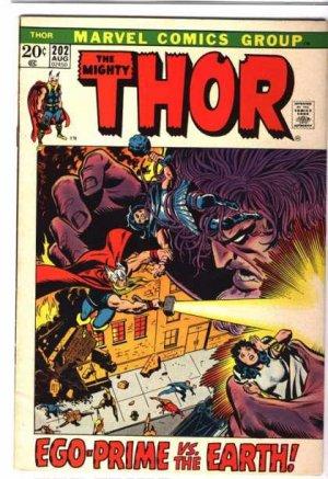Thor # 202 Issues V1 (1966 à 1996)
